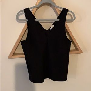 H&M black fitted tank